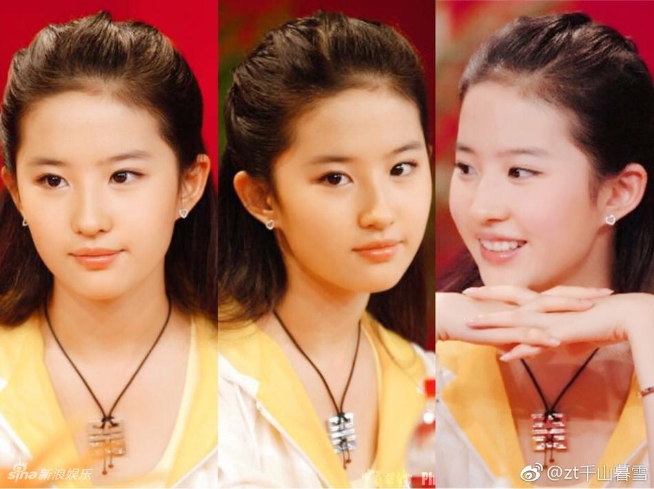 刘亦菲曝早年美国时期照片 小小年纪美貌动人