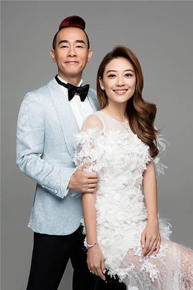 陈小春结婚七周年写真曝光 一把抱起应采儿老公力max
