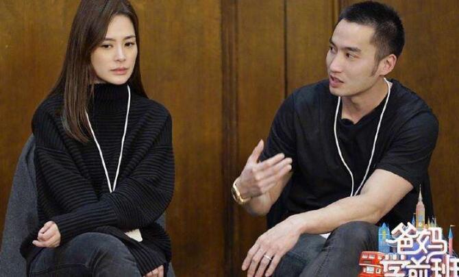 阿娇和她老公赖弘国一起参加了一档综艺节目《爸妈学前班》