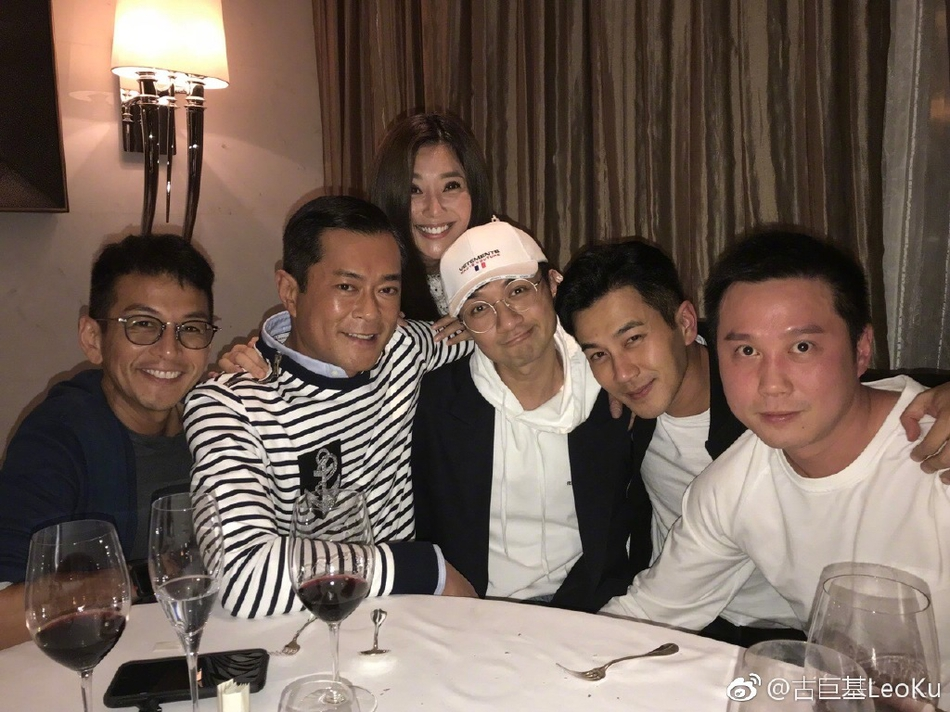 TVB新五虎罕见合体