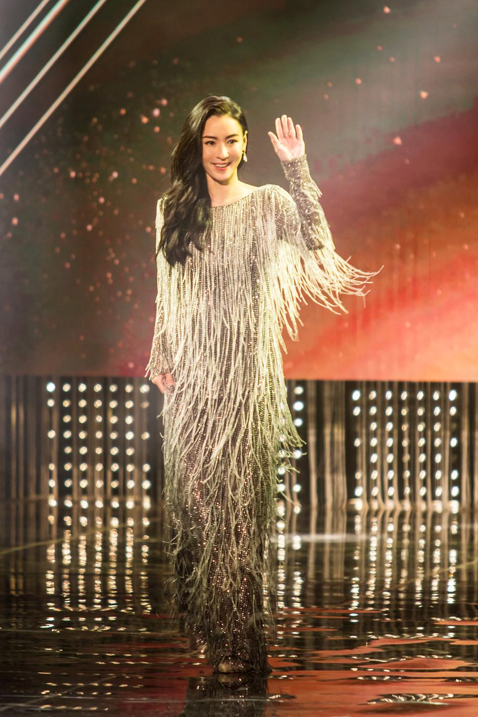 组图:张柏芝颁奖典