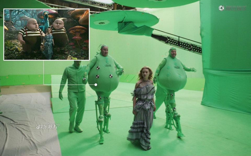 揭秘好莱坞电影特效制作 阿凡达绿巨人片现真