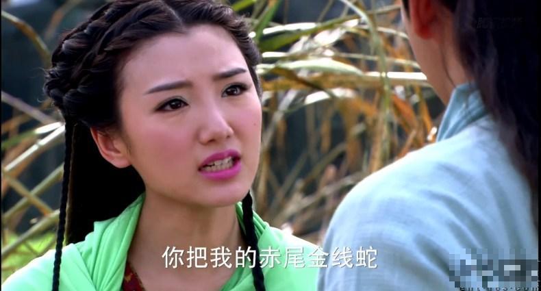 《新天龙八部》雷人 木婉清戴蕾丝内裤(组图)
