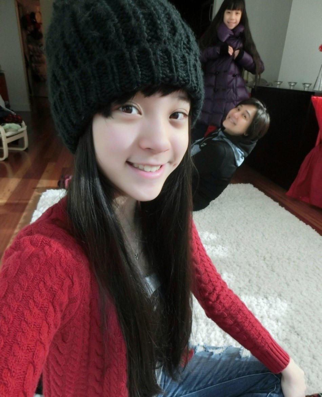 台湾14岁大提琴公主生活照曝光