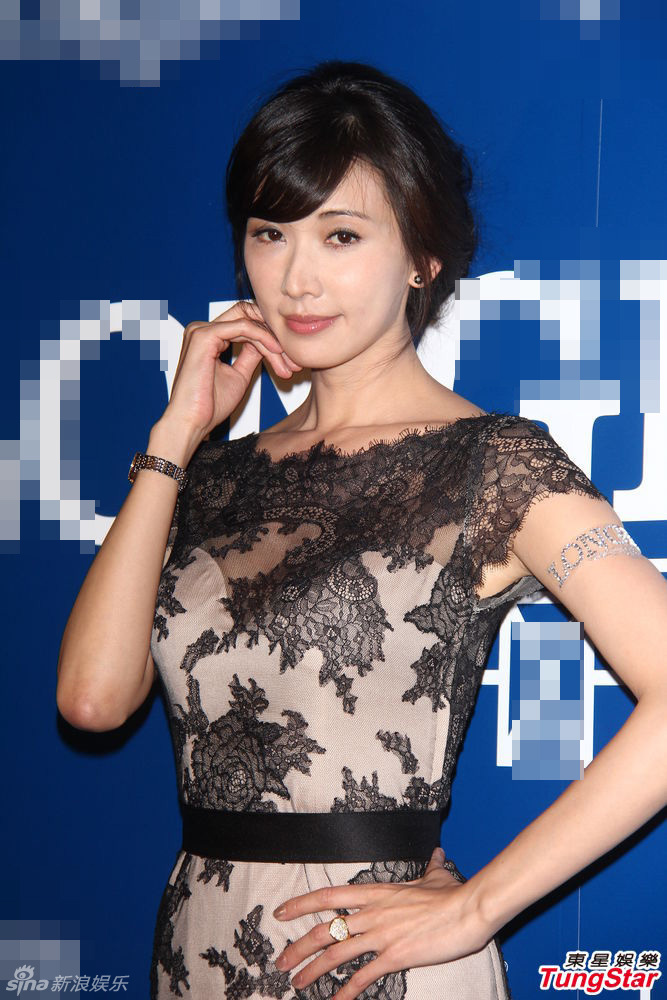 女星林志玲再度应邀为某品牌