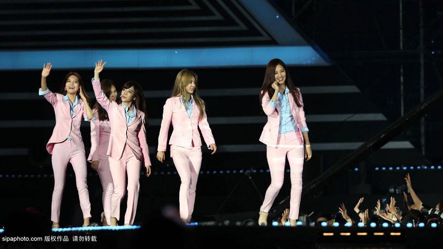 少女时代、EXO飙歌 T ara、Girl's Day拼热舞