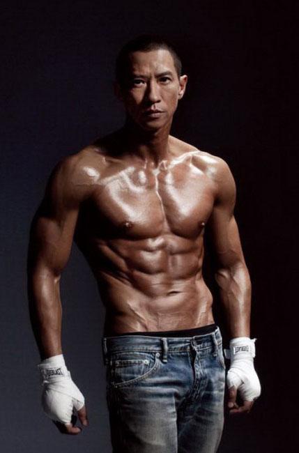 吴尊 肌肉 身材 图片合集