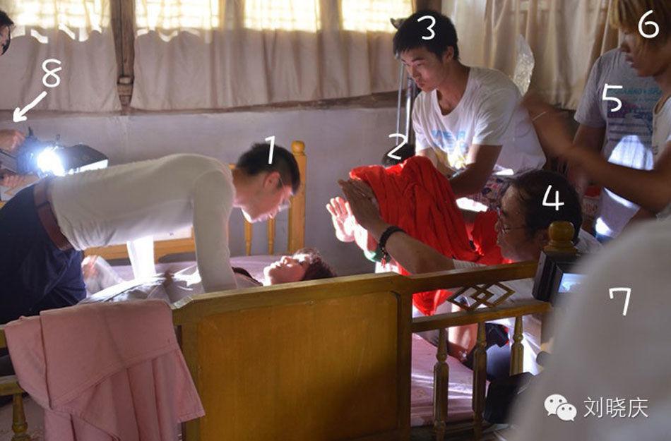 刘晓庆大尺度床戏激战2小时 八帅哥压塌床图