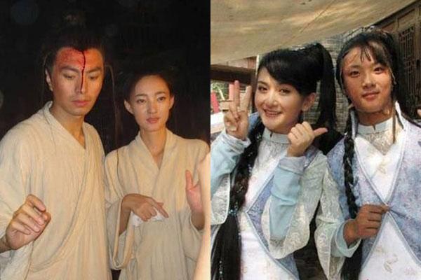 谢娜和王丽坤都是素颜女神