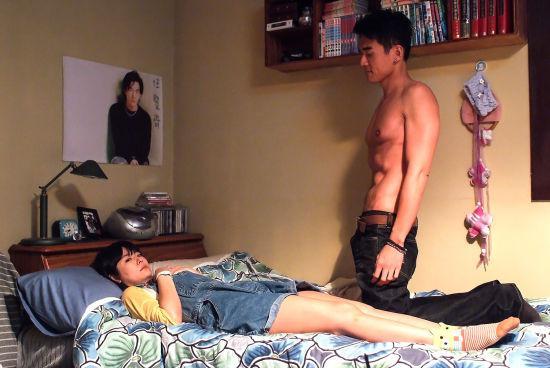 女主角林心如对床戏很