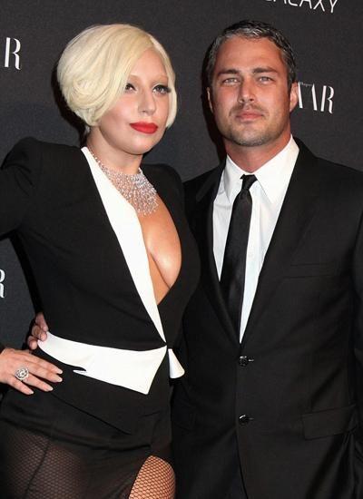 Gaga与男友