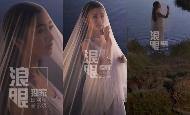 林依晨婚纱照 林依晨老公是谁 林依晨个人资料 冯绍峰和林依晨婚纱照