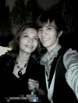 郭敬明和媽媽