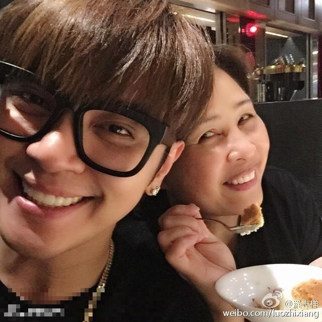 羅志祥和媽媽