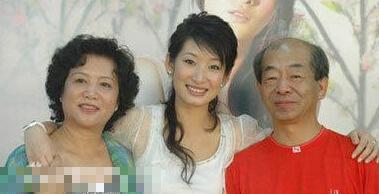 秦海璐和父母