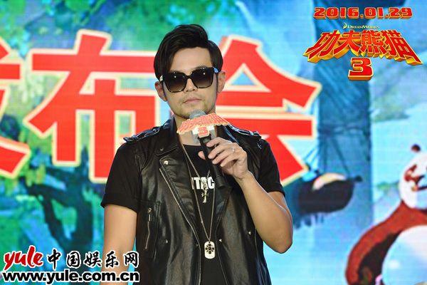 《功夫熊猫3》中文版金猴配音演员、主题曲演唱者周杰伦