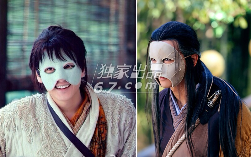 人俞飞鸿在《三少爷的剑》中真的是美出境界,就是那个双眼皮贴太抢图片