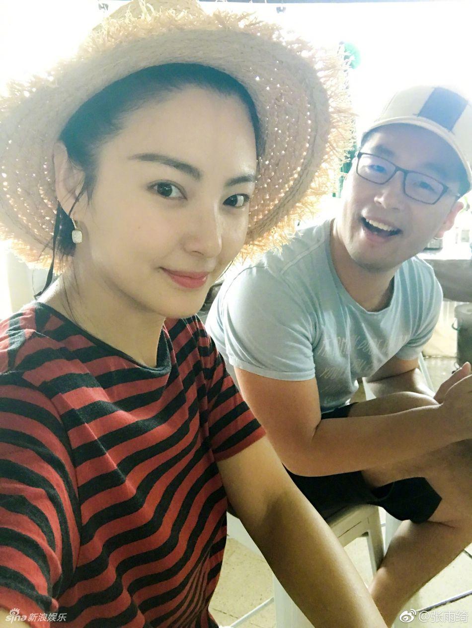 张雨绮与老公海滩秀恩爱 一张照片遭疑怀孕 - 青岛